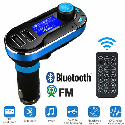 Wireless Bluetooth Car Kit FM Transmitter Radio MP3 Music Player With USB Port