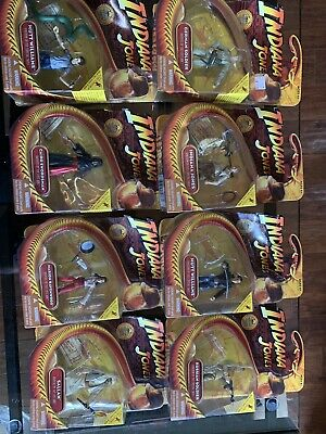"Indiana Jones 3.75"" LOOSE FIGURE LOT 2008 Raiders of the Lost Ark Last Crusade"