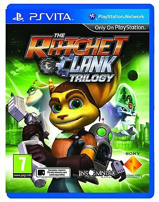 Ratchet and Clank Trilogy (Playstation Vita) BRAND NEW SEALED