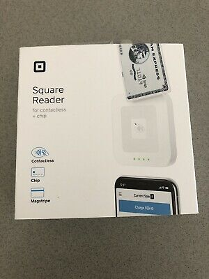 Square Card Reader for Contactless, Chip and Magstripe