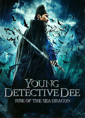 Young Detective Dee: Rise of the Sea Dragon, Mark Chao, Feng Shaofeng [NEW], DVD