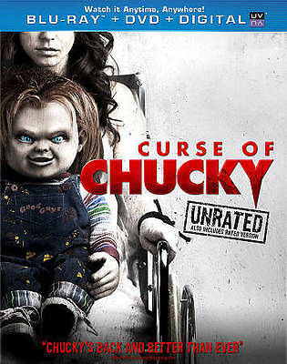 Curse of Chucky (Blu-ray/DVD, 2013, 2-Disc Set, Unrated),Fiona Dourif [NEW], DVD