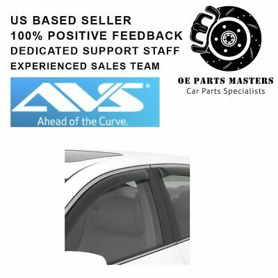 Auto Vent Shade 194254 in-Channel Vent Visor Side Window Deflector 4-Piece Set for 2016-2018 Chevrolet Malibu