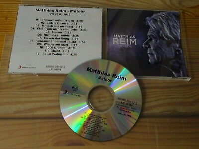 Matthias Reim - Meteor / Limited-Album-Cd 2018 Mint-