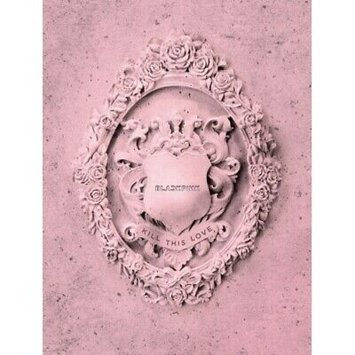 Blackpink-[Kill This Love]Mini Album Pink CD+Poster/On+Book+etc+Gift+Tracking