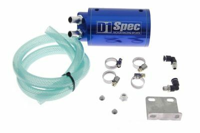 Sport Universal Kit Ds-Ot-009 Oil Catch Tank D1Spec 15Mm Blue