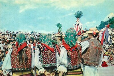 Romania Maramures folk art treasures a wedding scene folklore costumes
