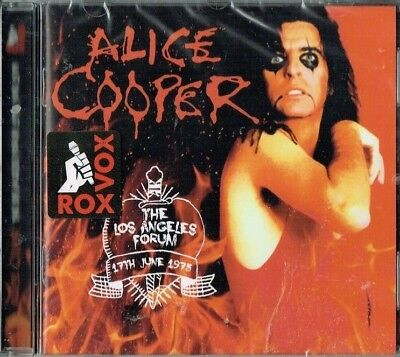 ALICE COOPER - The Los Angeles Forum , June 1975 ( Brand new & sealed cd)