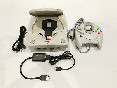 SEGA Dreamcast Console with GDEMU 128GB SD Card PAL 220V HDMI