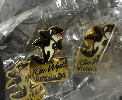 Wholesale Lot of 12 New Cut-Out Orca Killer Whale Ocean Life Dolphin Lapel Pins