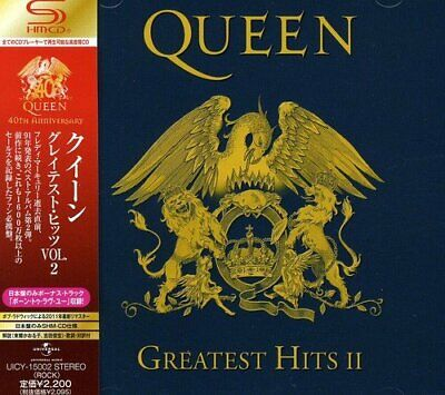 Queen Greatest Hits II Vol.2 CD 40th Anniversary with Japan Limited Track Japan
