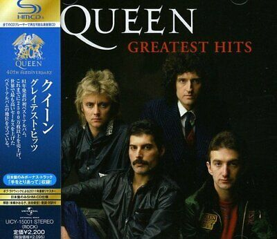 Queen Greatest Hits CD 40th Anniversary with Japan Limited Track from Japan