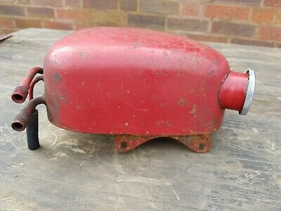 Vintage  Ariel Motorcycle Swinging Oil Tank Project Restoration + Orig Cap Gc