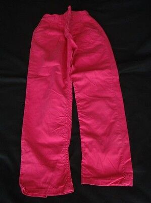 Girls Next Pink Cotton Trousers Age 10