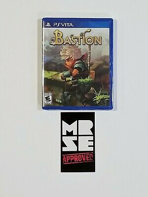 Bastion Limited Run Games #173 for Sony PS Vita New Sealed