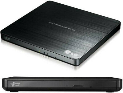LG External DVD Drive USB DVD CD RW Burner Laptop Potable Player Writer GP60NB50