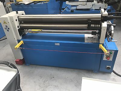 Power operated bending rolls , metal  rollers 1300mm x 150mm 6.5mm capacity