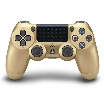 Genuine Sony DualShock 4 Wireless Controller Playstation 4 Gold (CUH-ZCT2U)