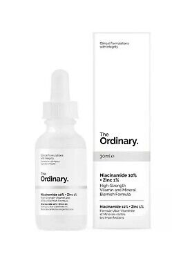 [THE ORDINARY] Niacinamide 10% + Zinc 1% 30ml High Strength Vitamin Mineral NEW