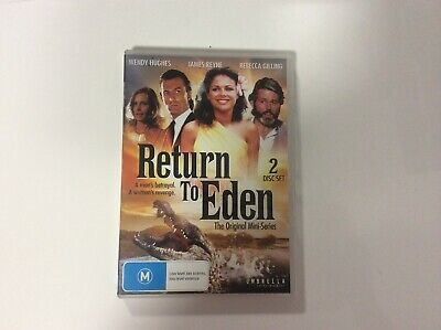 Return to Eden - The Original Mini-Series - 2 Disc Set - R4 - Like New Condition