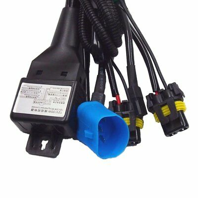 p4 TWO 9007 Bi-Xenon (High/Low) Hid Xenon Conversion Replacement Wiring Harness