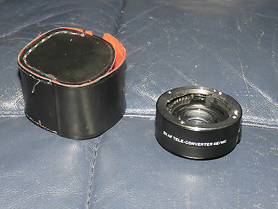 sh5 Focal 2x af tele-converter 4e/mc Canon?? Free Domestic Shipping