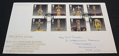 23/8/11 Crown Jewels First Day Cover SHS Postmark (B89)
