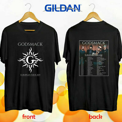 Godsmack European tour 2019 T-Shirt Sizes S-5XL 5XL