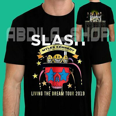 Slash Ft Myles Kennedy & The Conspirators Living Dream Tour 2019 T Shirt S-5XL