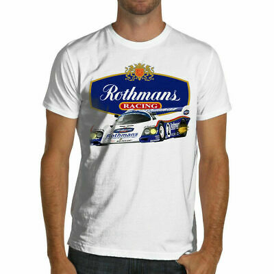 Rothmans Vintage Retro Classic Racing New T-Shirts White o S-5XL