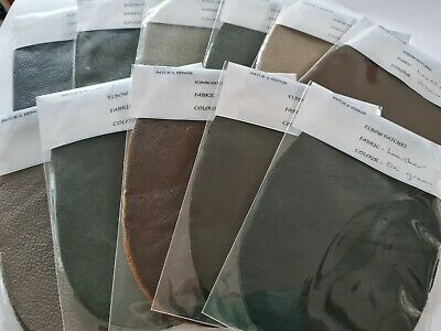 Quality Leather Oval Elbow Patches/Trimmings  **11 Great Autumn Colors**