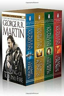 George R. R. Martin's A Game of Thrones 4-Book Boxed Set: ... | Livre | état bon