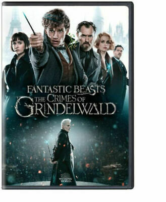 Fantastic Beasts: The Crimes of Grindelwald (DVD, 2018) NEW PRE-SALE SHIPS 03/12