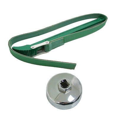 12 Inch Belt Wrench Oil Filter Remover Mechanic 14T Cap Wrench Tool High Quality