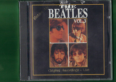 Beatles - The Golden Age Live Vol.3   Cd Nuovo Sigillato