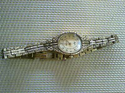 Vintage GOLD PLATED USSR made WOMen's Wrist Watch LUCH