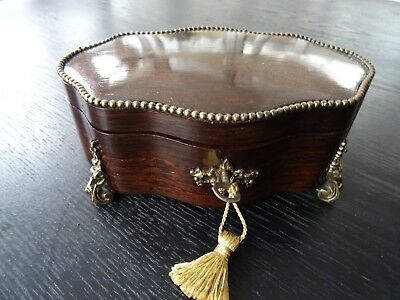 Antique French  Jewellery Casket (146)