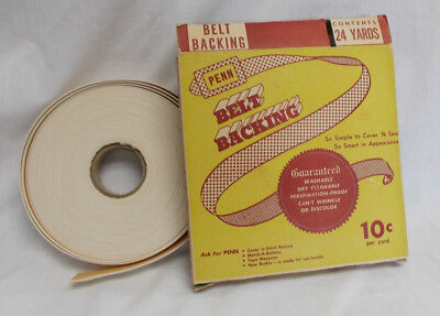 Collectible Penn Belt Backing -Box and Contents