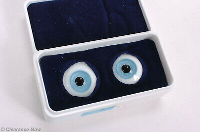 Doll Eyes Size 16 MM Blue Color Paperweight Acrylic New Old Stock Tallina/'s
