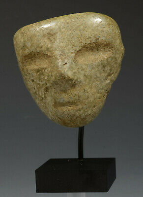 Pre Columbian Mexico Mexican Chontal Carved Stone mask ca. 300-100 BC