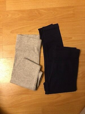 Bundle Of Two Mini Boden Girls Leggings 5-6 Years