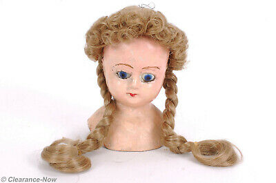 NEW #160 MONIQUE Gibson DOLL WIG DK Brown 10-11 Modacrylic Madame Toni Character