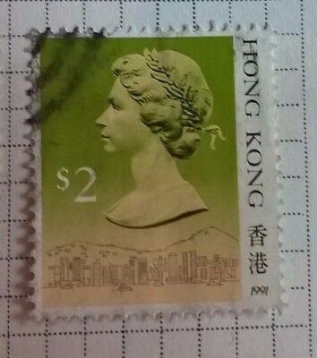 Hong Kong stamps - Queen Elizabeth II   2$ 1991