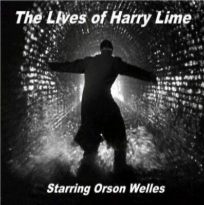 The Lives Of Harry Lime Radio Shows Mp3-Cd Orson Welles The Third Man 25 Hours