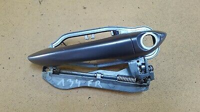 BMW E53 X5 3.0D 4.4i 03-06 FRONT RIGHT OUTER DOOR HANDLE RELEASE MECHANISM GRAY