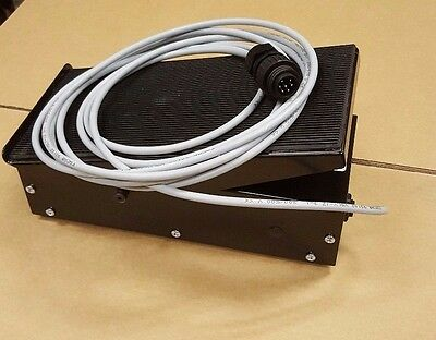 Migatronic Tig Welder Foot Pedal - Fitted With 7 Pin Plastic Plug