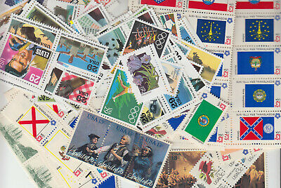 US Face Value 55 Cent 3 stamp combo x65, $35 discount postage, Free Shipping!
