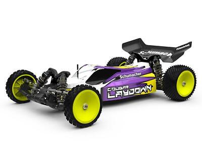SCHK180 Schumacher Cougar Laydown 2WD 1/10th Off-Road Competition Buggy Kit