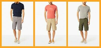 Dockers ~ Relaxed Fit Stretch Men's Cargo Shorts $60 NWT
