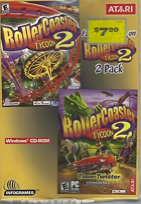 ROLLERCOASTER TYCOON 2 Time Twister Expansion Pack - Go Back